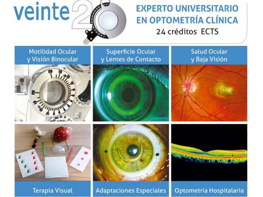 EXPERTO UNIVERSITARIO EN OPTOMETRÍA CLÍNICA (2018-2019)