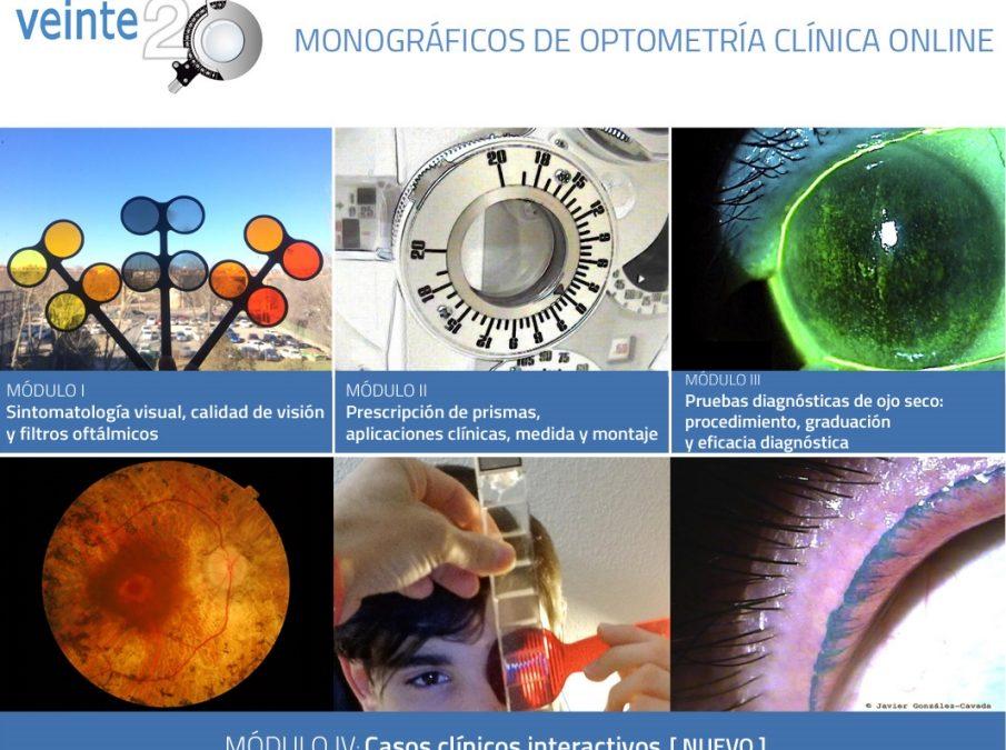 MONOGRÁFICOS DE OPTOMETRÍA CLÍNICA ONLINE